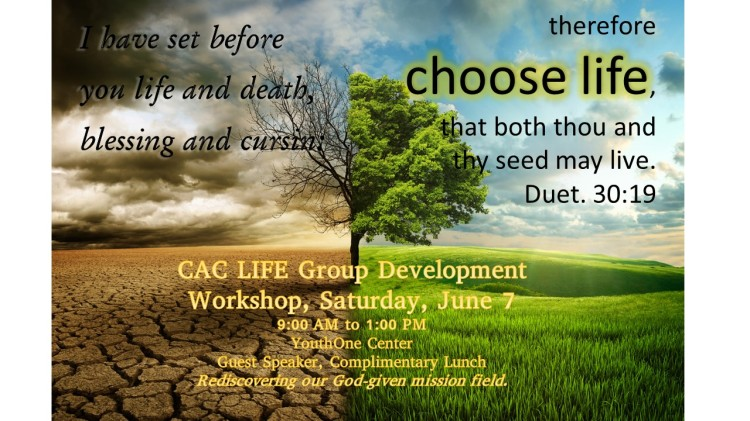 LIFE Group Workshop Poster