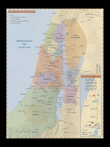 Israel Territory in Joshua 11