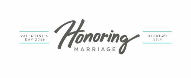 Honoring Marriage Text Image